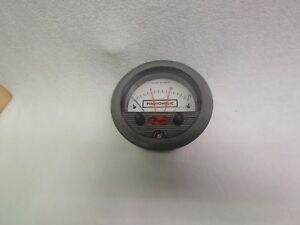 Dwyer Photohelic Pressure Switch 0 15 inches Of Water