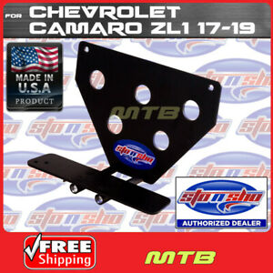 License Plate Bracket For 17 18 Zl1 Camaro Quick Release Sto N Sho Sns101