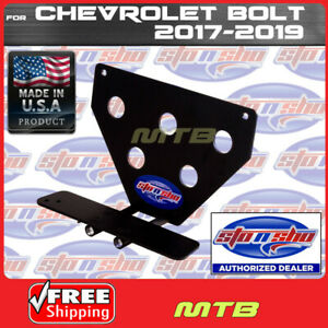 License Plate Bracket For 2017 2017 Chevy Bolt Quick Release Sto N Sho Sns103