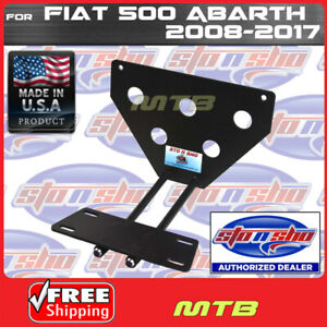License Plate Bracket For 08 17 Fiat 500 Abarth Quick Release Sto N Sho Sns43