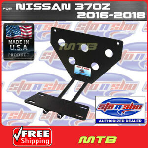 License Plate Bracket For 2016 2017 Nissan 370z Quick Release Sto N Sho Sns80