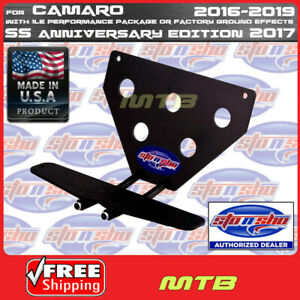 License Plate Bracket For 16 18 Camaro With 1le Package Sto N Sho Sns89a