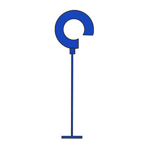 Pack Of 5000 New Retails Blue Regular Hook Tagging Fasteners 2 Inch Long