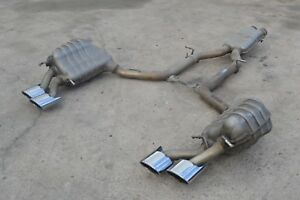 2012 W204 Mercedes C63 Amg P31 Coupe Muffler Exhaust Cat Back Complete System