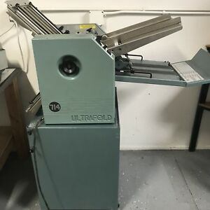 Baum 714 Ultrafeed 14 X 20 Friction Feed Paper Folder