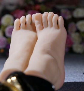Top Quality Silicone Unique Silicone Female Feet Shoes Socks Display Model Photo