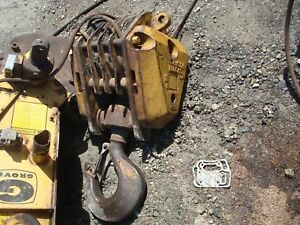 Grove Crane Hook Block 30ton 4 Sheave 5 8 Wire Rope Mod 3001 2rtc Used