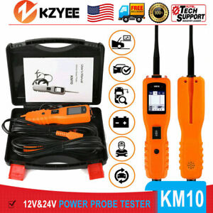 Kzyee Km10 12v 24v Powerscan Circuit Tester Electrical Power Avometer Probe Tool