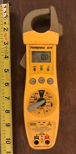 Fieldpiece Sc76 Clamp Meter Capacitance No Leads