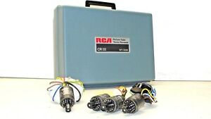 Rca Picture Tube Tester Wt 333b Cr Iii Vintage
