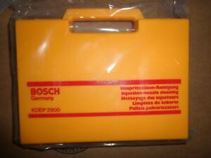 Bosch Kdep 2900 Fuel Injection Nozzle Cleaner Kit For Diesel Injector