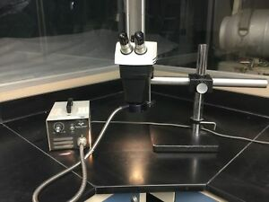 Bausch Lomb Stereozoom 7 Microscope With Fiber Light