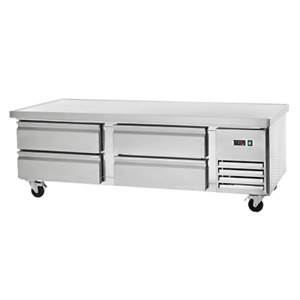 Arctic Air Arcb72 74 4 Drawer Refrigerated Base Equipment Stand