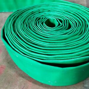 1 5 1 1 2 Agricultural Grade Pvc Lay Flat Discharge Hose 100m 330 Feet