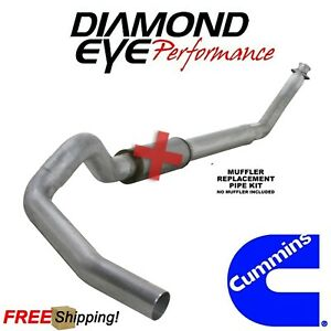 Diamond Eye 5 Inch Turbo Back Exhaust For 2004 5 2007 5 Ram 5 9 Cummins Diesel