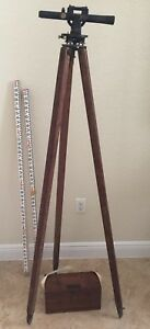 Berger Instruments 72079 Level Land Surveying Tool Tripod Measuring Stick