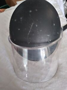 Previously Owed Police Riot Gear helmet With Face Shield