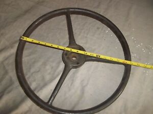 1934 1935 1936 1937 Chevrolet Steering Wheel Vintage Original Nice 17 1 4 Rat