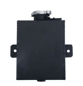 Universal Aluminum Coolant Expansion Tank Overflow Recovery Bottle With Cap