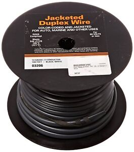 East Penn 03206 100 14 2 Gauge Jacketed Wire