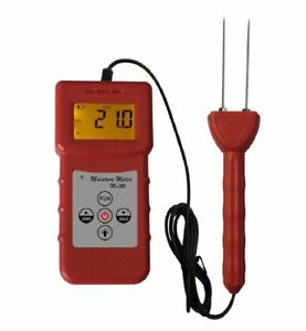 Ms320 Digital Portabletobacco Moisture Content Tester Meter With Lcd Display