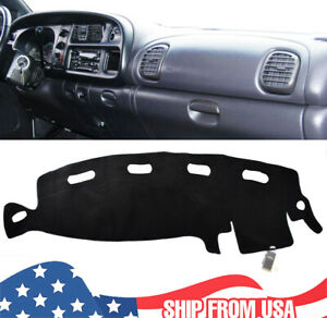 Xukey Dashboard Cover Mat Dashmat For Dodge Ram 1500 2500 3500 1998 2001 00 1999