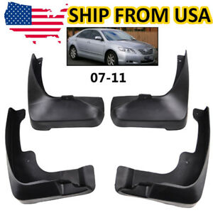 Mud Flaps Splash Guards Fender Front Rear For Toyota Camry 2007 2011 2009 10