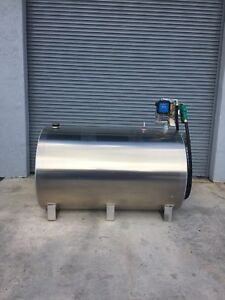 Fuel Storage Tank Aluminum 500 Gallon With Dispenser