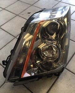 2008 2009 2010 2011 Cadillac Cts Left Drivers Headlight Oem