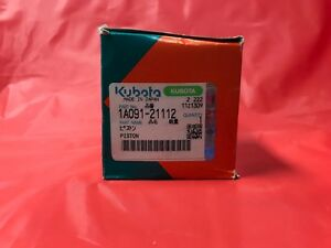 New Oem Kubota Piston Part Number 1a091 21112