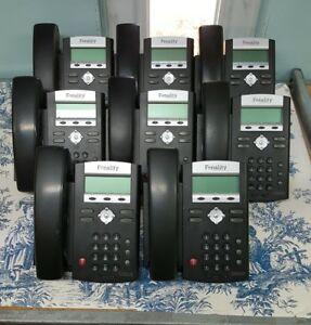 Lot Of 8 Polycom Soundpoint Ip 331 Fonality 2 line Voip Phones