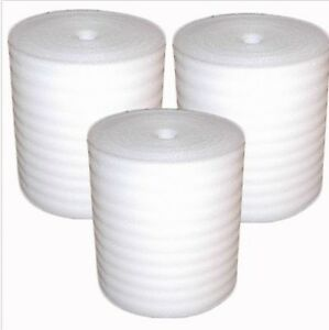 1 8 Foam Wrap Packaging Roll 24 X 550 Per Roll Free Ship
