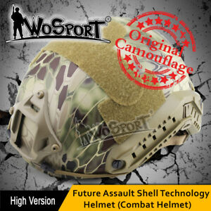 Tactical Helmet MH FAST Camouflage OCC DIAL Adjustable CS Game Airsoft Paintball