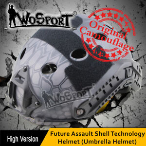 Tactical Helmet PJ FAST Camouflage OCC DIAL Adjustable CS Game Airsoft Paintball