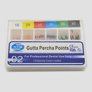 300 new Gutta Percha Points For Dental Use Color Coded 15 40 Ce Fda Xw