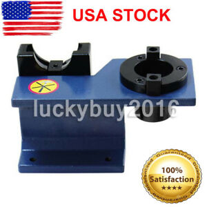 Cat40 Universal Cnc Tool Holder Tightening Fixture Clamping Blue