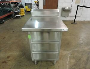 Commercial Stainless Steel Work Table With Three Drawers