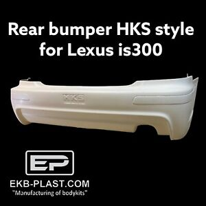 Rear Bumper Hks Style For Lexus Is200 Is300 Toyota Altezza Sxe10
