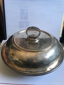 Silver French Soup Vegetable Tureen By Tetard Freres