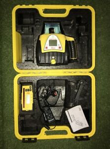Leica Rugby 410dg Dual Grade Rotating Laser Level Free Next Day Ups Delivery