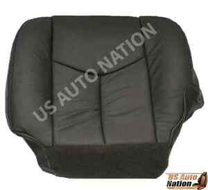03 07 Chevy Avalanche Silverado Gmc Sierra Passenger Bottom Seat Cover Dark Gray