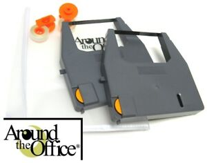 Canon S 66mx 2 Typewriter Ribbons And 2 Lift Off Tapes