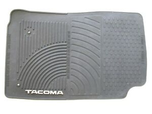 05 06 07 08 09 10 11 Toyota Tacoma Front Passenger Rubber All Weather Floor Mat