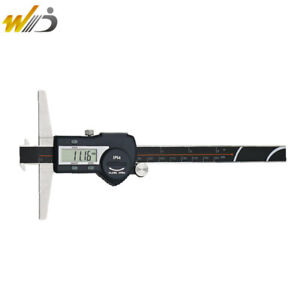 150 Mm Digital Digimatic Vernier Caliper Double Hooks Depth Caliper Micrometer