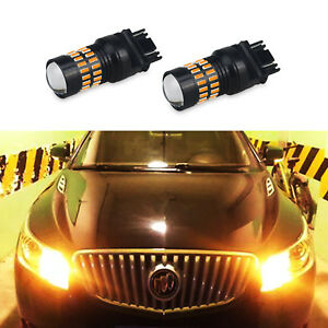 Auxito 3157 Led Switchback 4014 48 Smd Dual Color Yellow Turn Signal Light