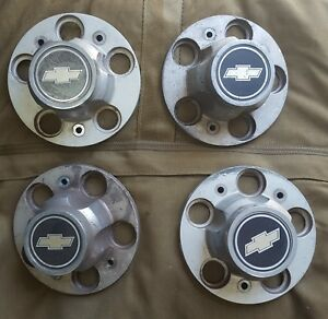 Vintage Chevrolet Chevy Hub Caps 349072 Oem Truck Rally Wheel Cover
