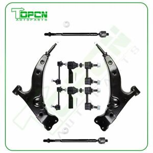 Complete Front Rear Suspension Kit Control Arm For 1993 1995 Toyota Corolla 10pc