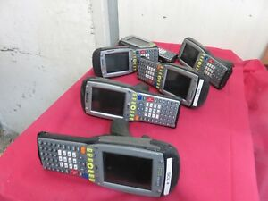 as is Lot Of 6 Psion Teklogix 7535 Barcode Scanner