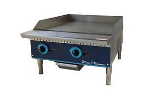 Commercial Kitchen 24 Manual Control Gas Griddle