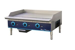 Commercial Kitchen 36 Manual Control Gas Griddle